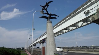 多摩サイ 右岸 立日橋 7.22
