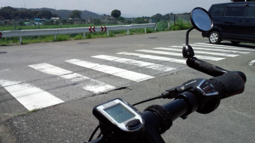 秋川サイクリングロード入口 8.9