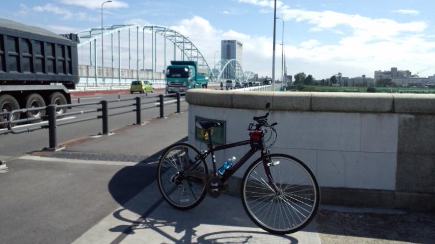 多摩サイ 多摩川大橋