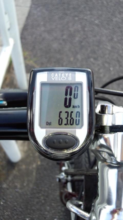 サイコン 2011.9.30_63.6km