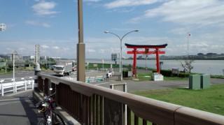 多摩サイ 弁天橋 2011.9.6