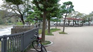 多摩川サイクリングロード終点 羽村