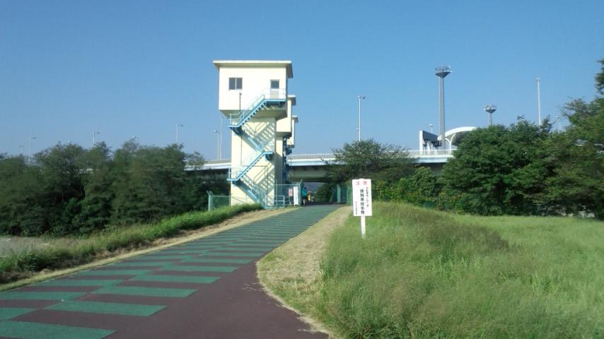 多摩サイ 稲城大橋付近