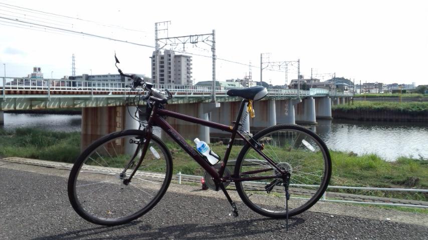 プレトレ 鶴見川CR 東急東横線、綱島駅付近