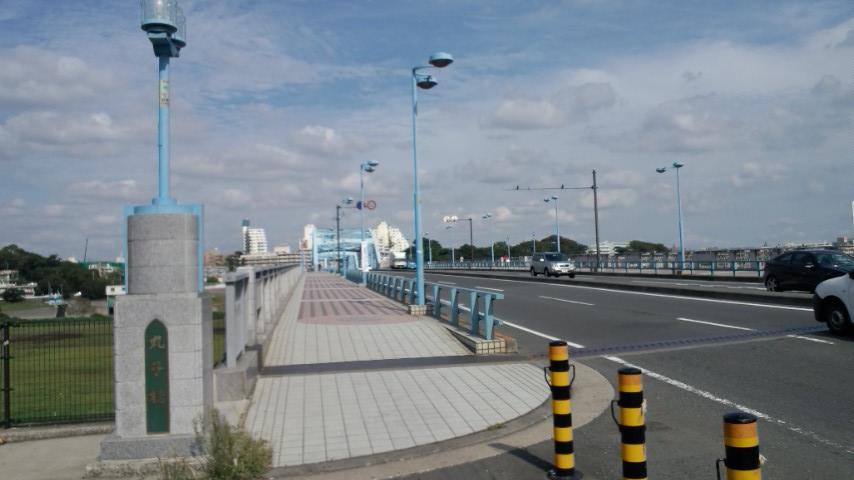 多摩サイ 丸子橋