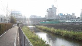 境川サイクリングロード 町田駅周辺