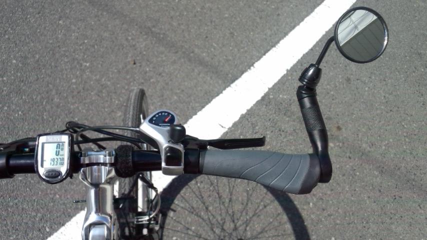 トリガーシフト(SL-TX50-7R)へ交換後