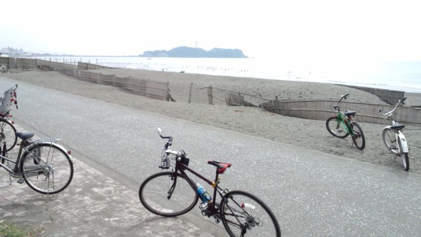 湘南 海のちか道 鵠沼海岸