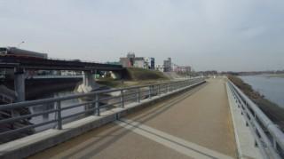 多摩川CR 平瀬川合流付近