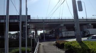 東北自動車道 岩槻IC付近