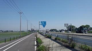 新4号国道 春日部付近