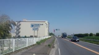 新国道4号バイパス 埼玉、茨城県境付近