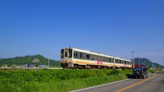 会津鉄道 あまや付近