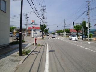 国道121号線 南会津町 田島付近