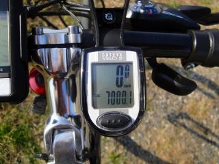 プレトレ 走行距離 7000km