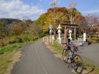 多摩サイ上流 阿蘇神社付近