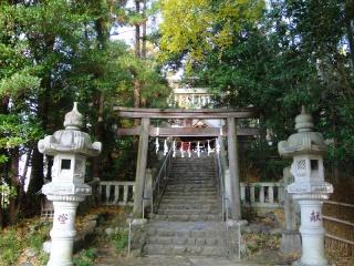 多摩川サイクリングロード終点 阿蘇神社
