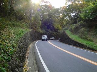 秋川街道 二ツ塚峠