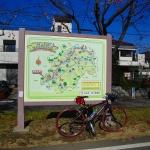 入間川サイクリング コース図