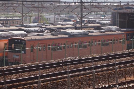 クハ201-1 豊田車両センター