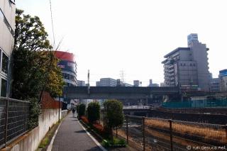 境川CR 町田駅付近