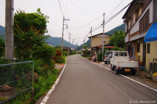 秩父鉄道  三峰口駅付近
