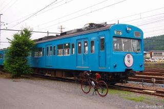 秩父鉄道1000系1001F(スカイブルー)影森駅