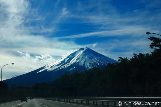 中央高速 富士山