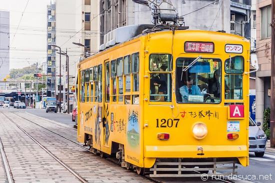 熊本の路面電車