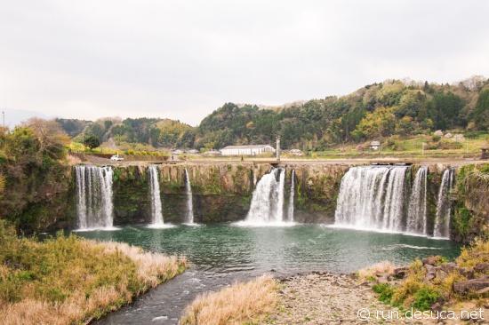 原尻の滝(大分県豊後大野)
