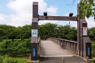 あきる野市、草花公園、はるか橋
