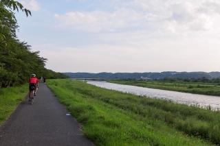 多摩サイ 睦橋付近