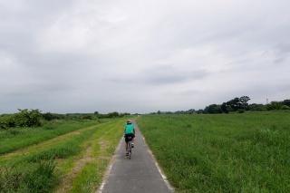 荒川サイクリング