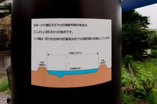 川幅日本一 御成橋