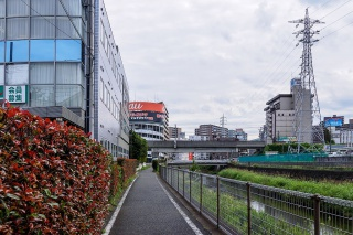 町田駅周辺 境川ゆっくりロード