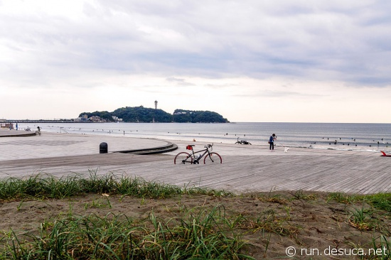 湘南海岸公園 ボードウォーク(海風のテラス)