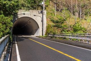 成木街道 小沢トンネル