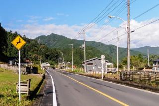 成木街道 名栗付近
