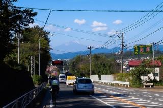 246号 富士山 ヤビツ峠へ