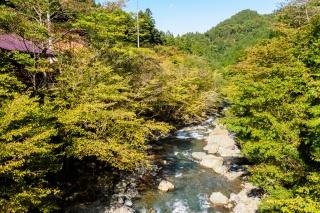ヤビツ 清川村 札掛の吊橋