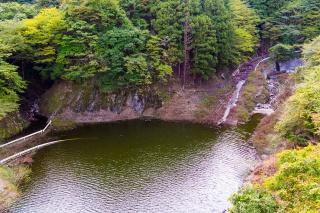 宮ヶ瀬湖 水没する旧道