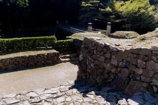 八王子城 御主殿跡へ通じる虎口