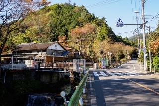 陣馬街道 和田峠の分岐