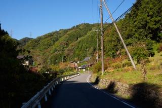 陣馬街道から入山峠へ