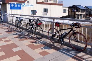多摩サイ サイクリング 多摩大橋