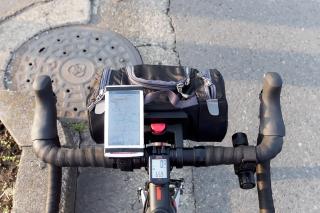 ロードバイク スマホ ナビ
