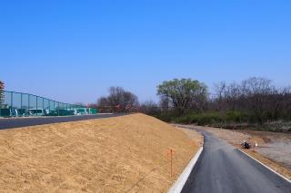 多摩サイ 拝島橋 工事