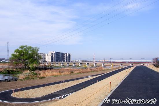多摩サイ 立川 貝殻橋 日野橋 工事