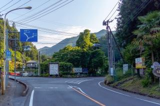 名栗湖 入口