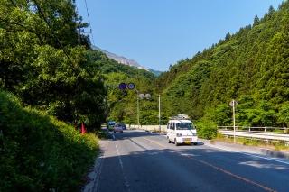 国道299号線 武甲山